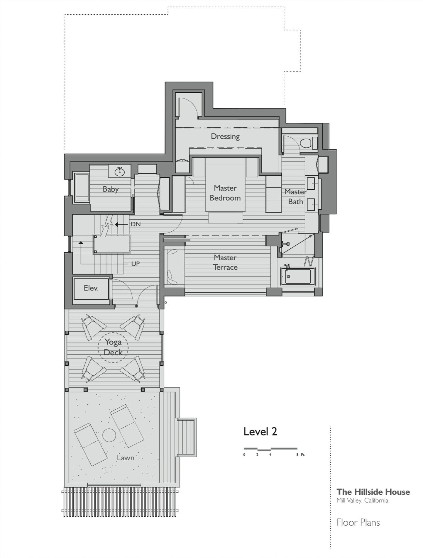 hillside house plans hillside house by sb architects caandesign 12029