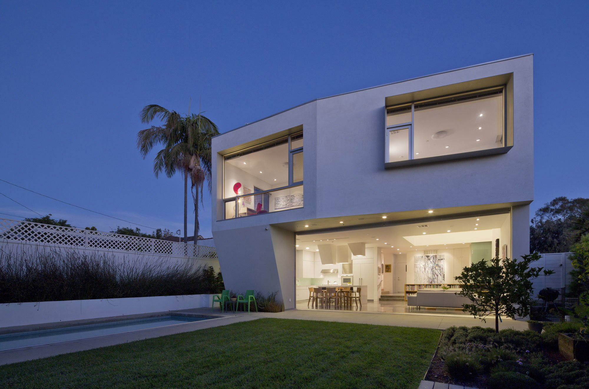 Holleb residence by john friedman alice kimm architects for Casa modelo americano