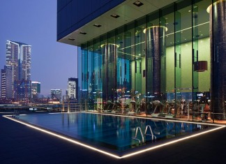 The luxury ICON Hotel in Hong Kong