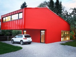 House V by Architekturbureau Jakob Bader