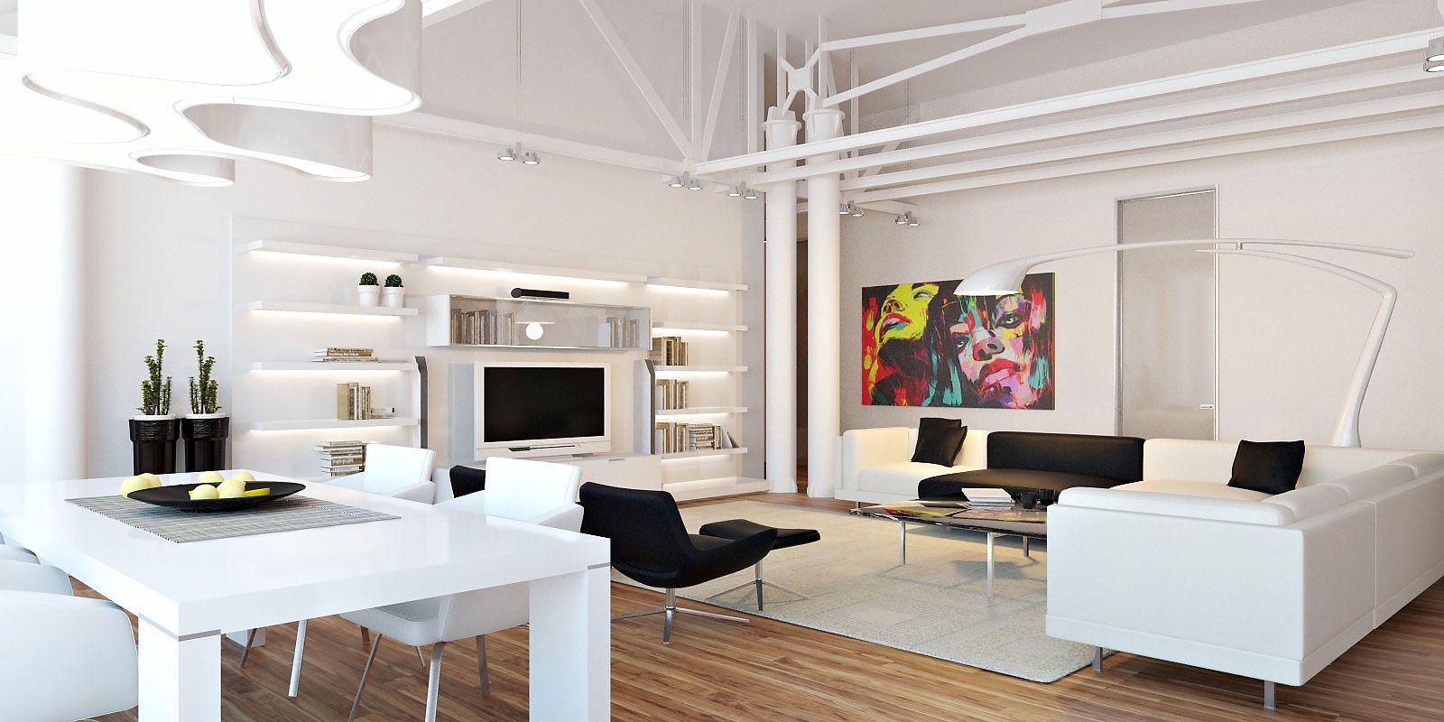 Loft Apartment In Chisinau By Grosu Art Studio CAANdesign Architecture An