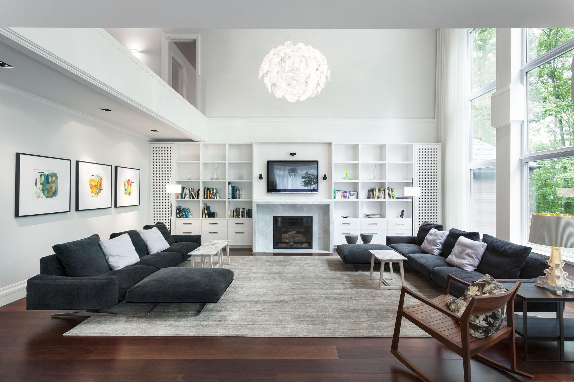 Maison du bois by gestion ren desjardins caandesign for Appartement haussmannien decoration