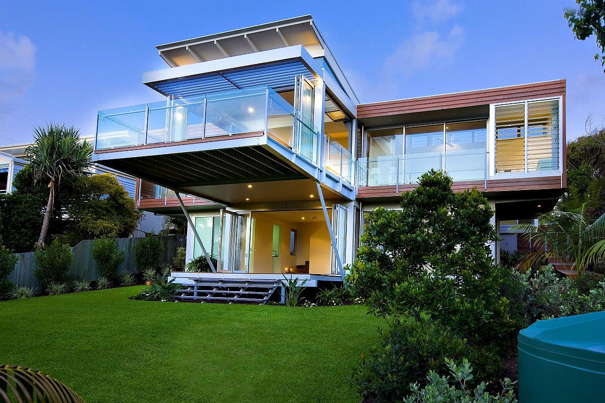 Marcus Beach House by Robinson Architects - CAANdesign ...