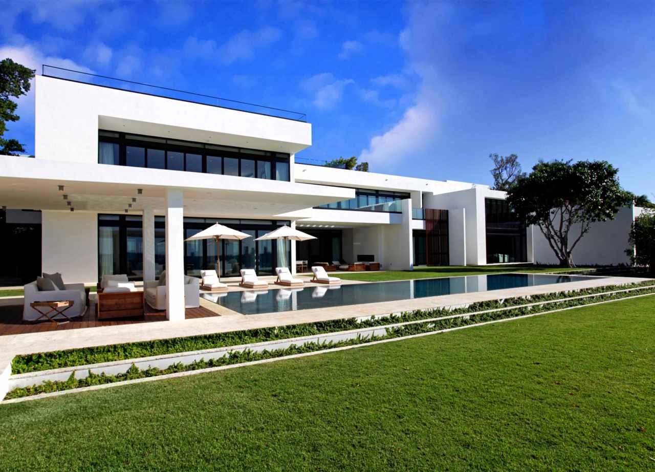 stunning waterfront modern masterpiece by ralph choeff in miami modern home by dkor interiors architecture amp design