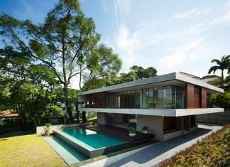 Modern JKC1 House by ONG&ONG