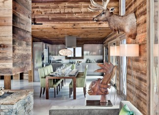 Luxury One Oak Chalet in Combloux, the French Alps