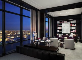 Stunning Chic Penthouse Located on the 77th floor in the Trump World Tower