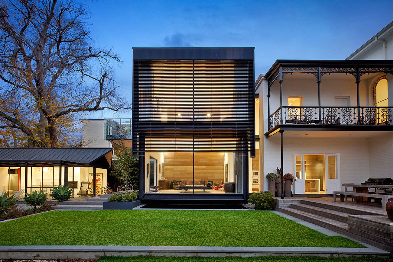 Contemporary victorian house in south yarra melbourne for Home architecture melbourne
