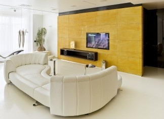 Triumph Palace Apartment in Moscow by Alexey Nikolashin
