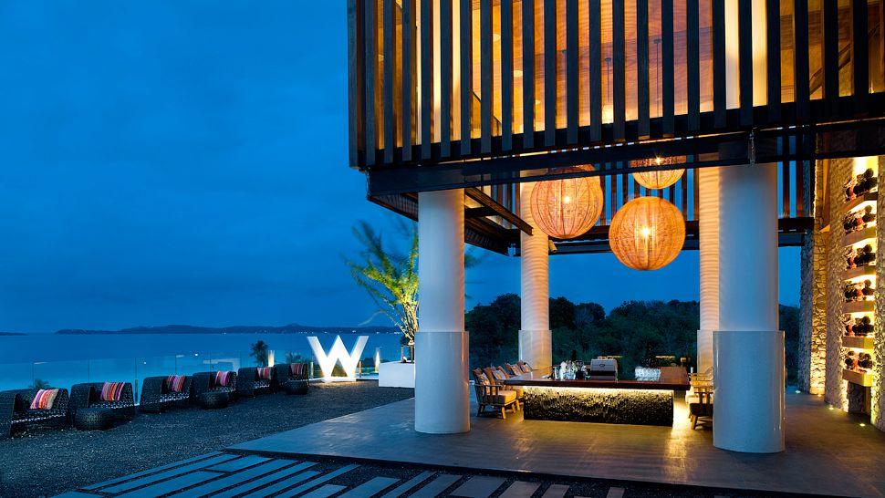 Luxury w retreat koh samui in thailand caandesign for Design hotel koh samui
