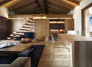 Interno Fraciscio by Studio Fanetti