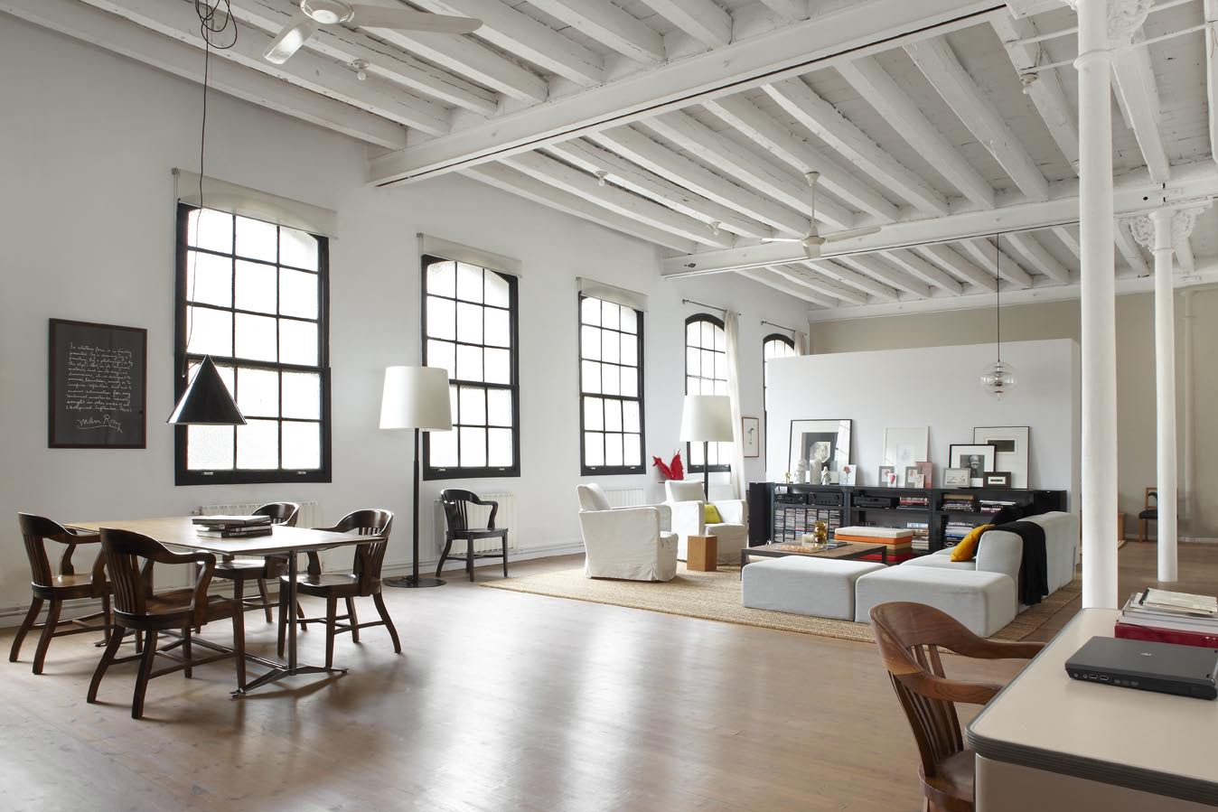New York Style Loft In Downtown Barcelona By Shoot - Loft home design