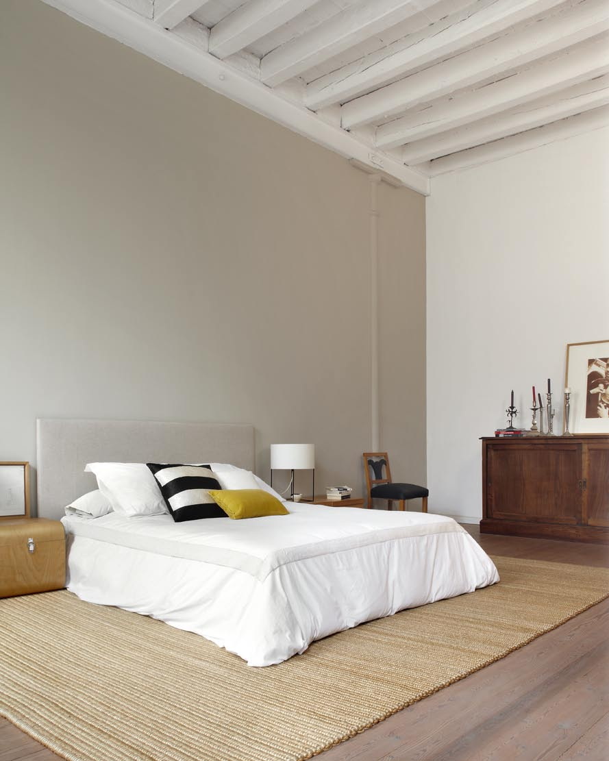 New york style loft in downtown barcelona by shoot 115 - Couleur chambre adulte zen ...