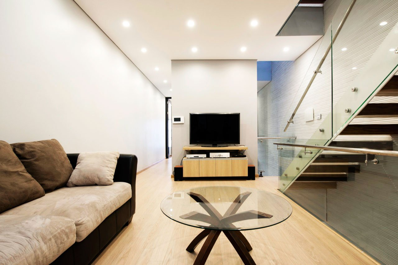 4.5×20 House by AHL architects associates
