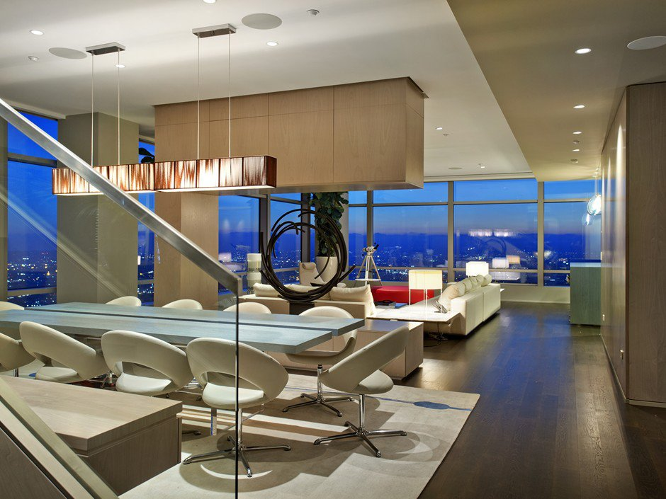 51A Duplex Penthouse of The Ritz-Carlton Residences in Los Angeles-02