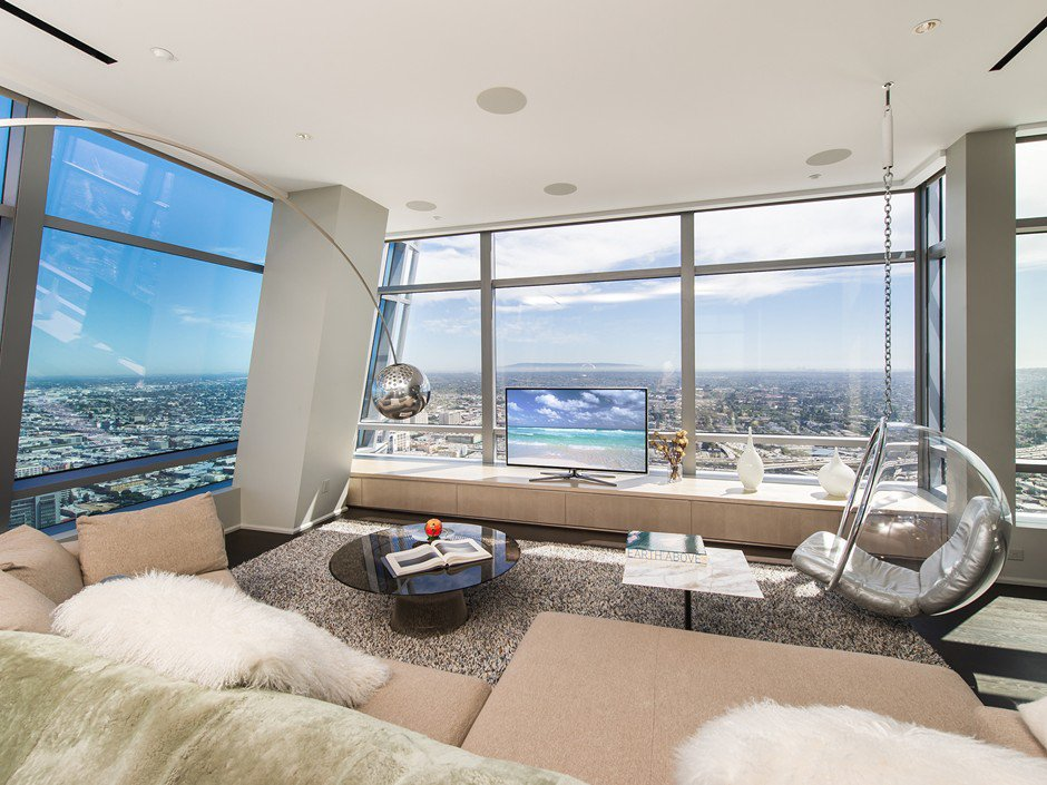 51A Duplex Penthouse of The Ritz-Carlton Residences in Los Angeles-07