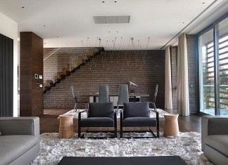 Duplex Apartment in Belgrade by Aleksandar Savikin