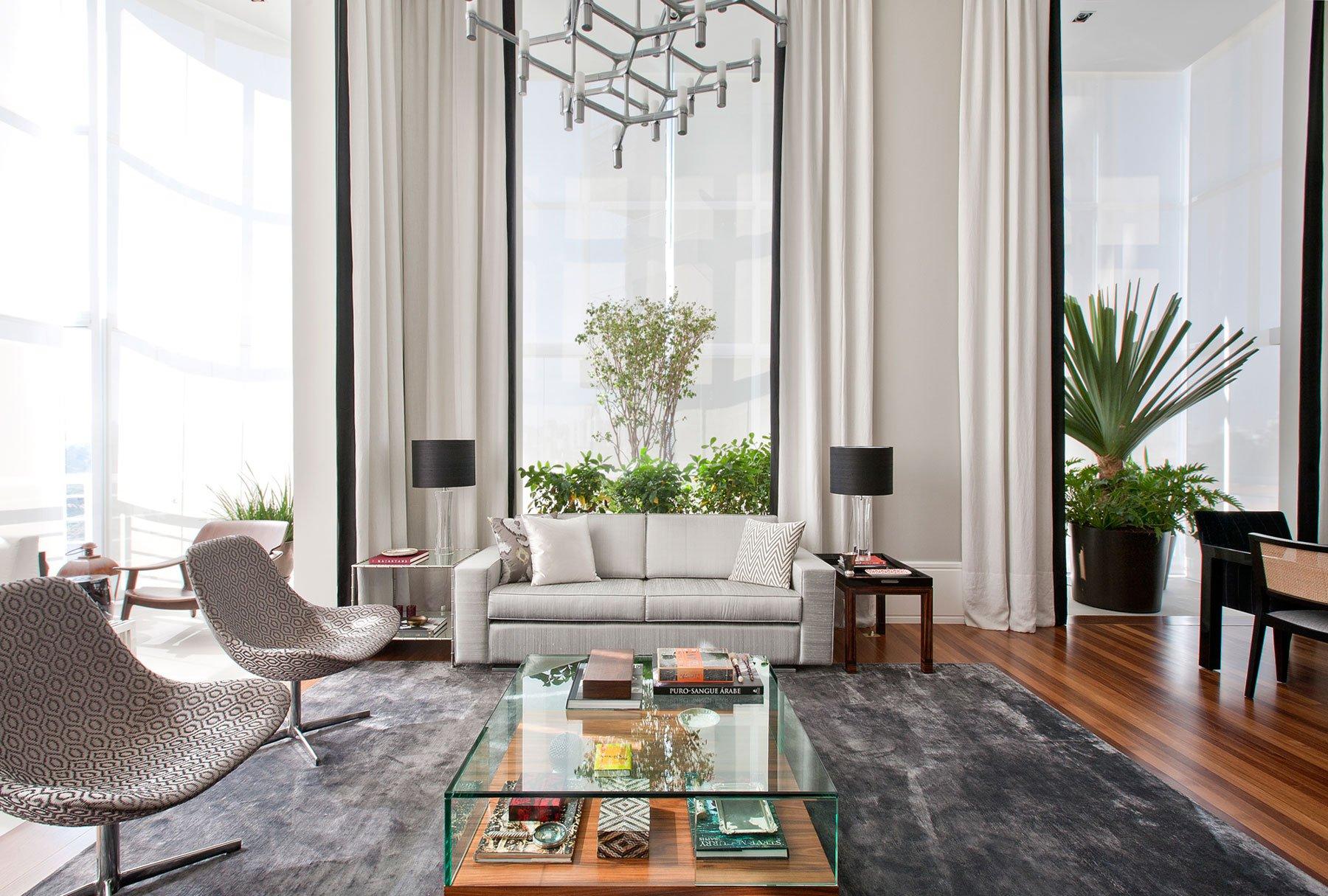 Elegant Home Interior By Marcelo Mota Arquitetura