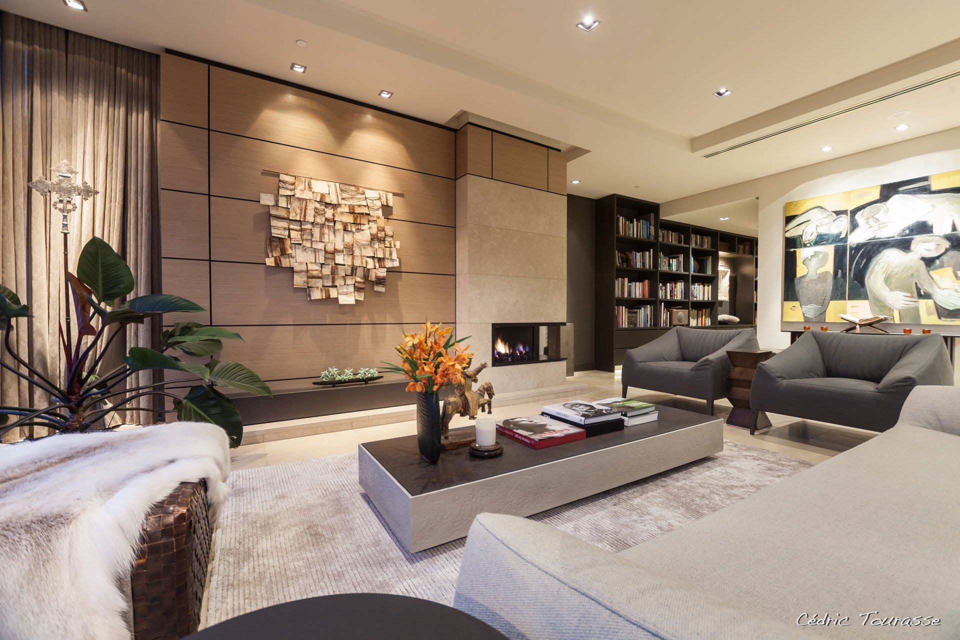 Apartment in the residence by dayne van bree and john for Modern living room design ideas 2015