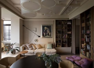 Apartment on Lva Tolstogo Street by Olga Akulova