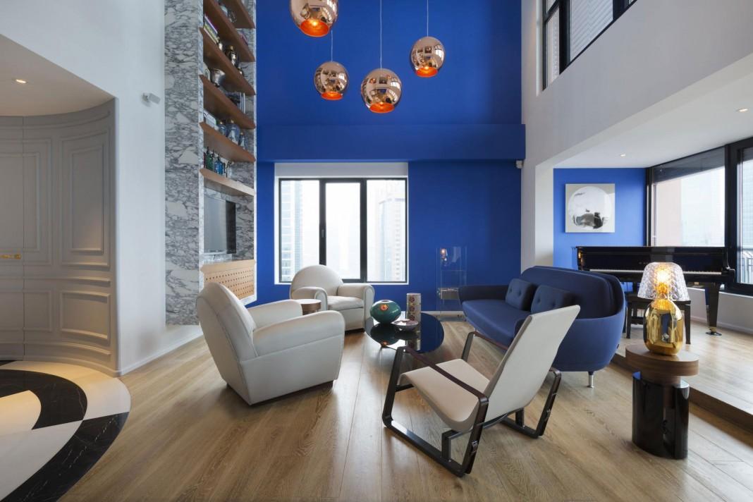 Blue Penthouse I by Dariel Studio
