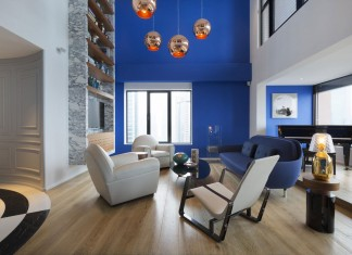 Blue Penthouse I by Dariel Studio
