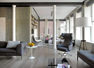 Bond Street Loft by Axis Mundi Design