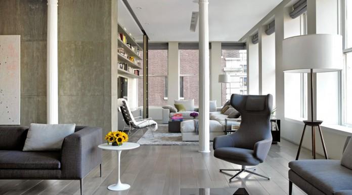 Bond Street Loft by Axis Mundi Design