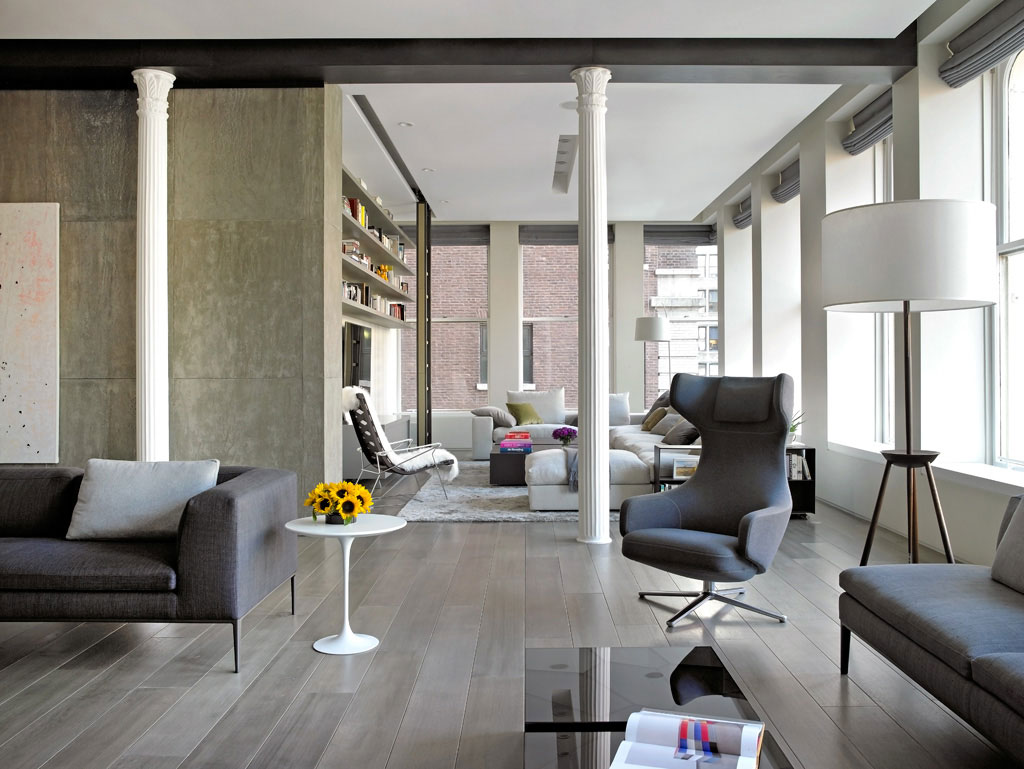 Bond Street Loft By Axis Mundi Design CAANdesign Architecture - Loft home design