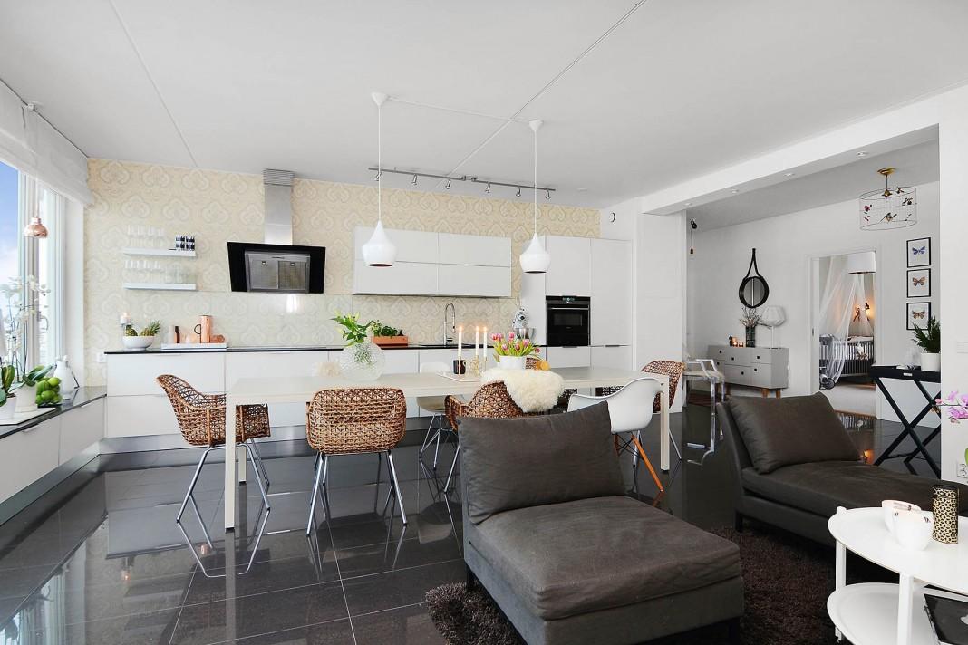 Bright Contemporary Apartment in Stockholm