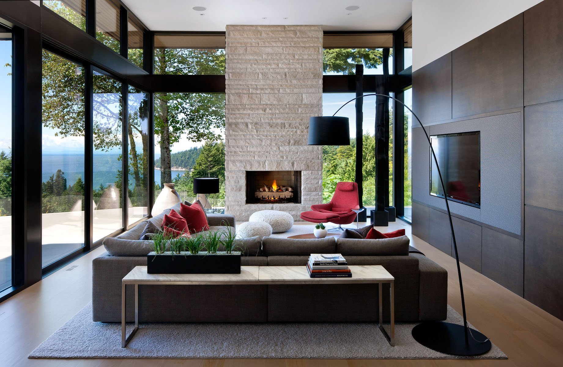 Burkehill Residence by Craig Chevalier and Raven Inside Interior
