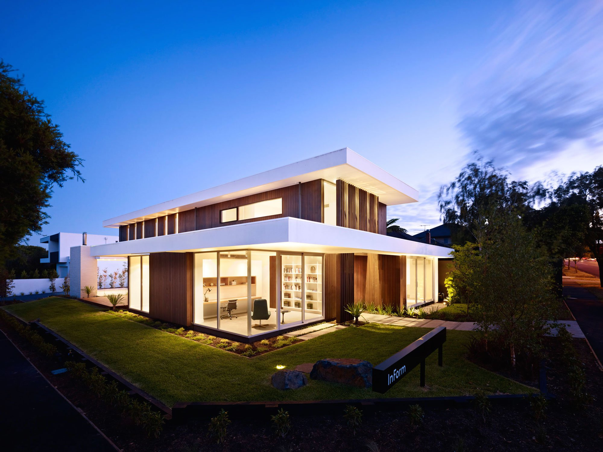 California House By Inform Design Pleysier Perkins Home Design