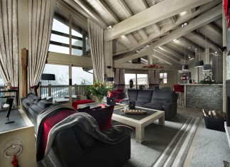 Gorgeous Chalet Baltoro in the Frech Alps