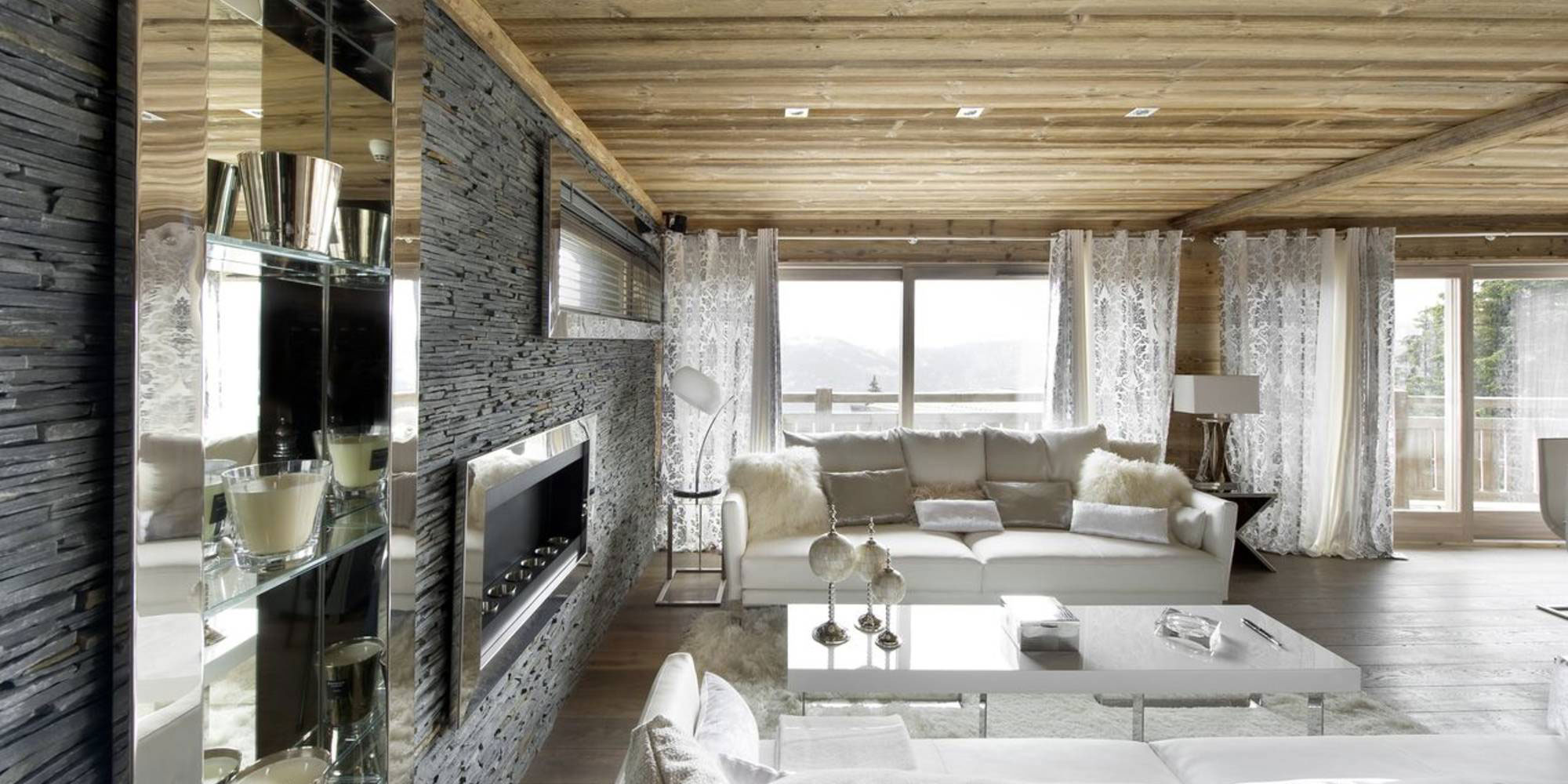 The Elegant Chalet Eden In Courchevel
