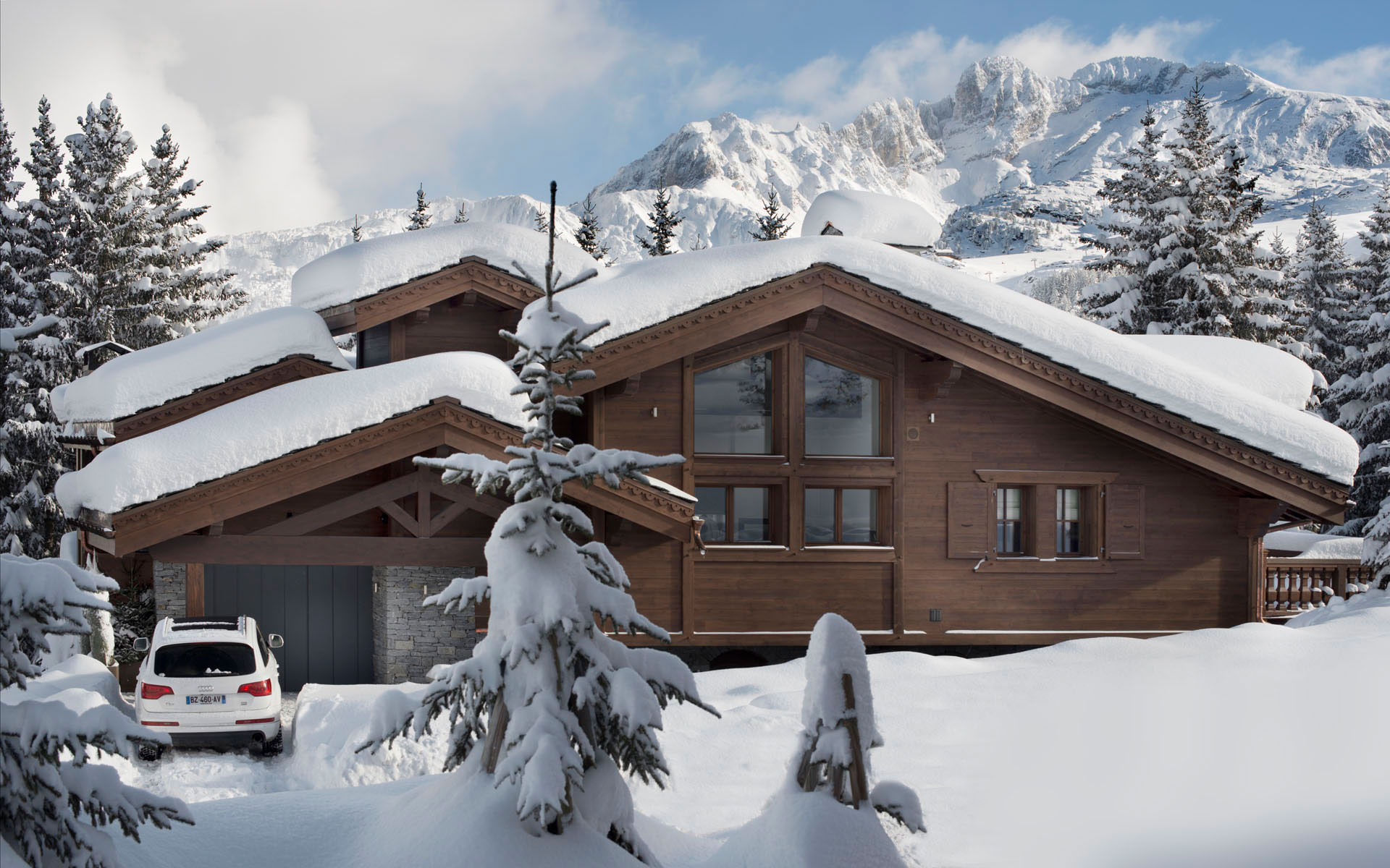 Chalet le coquelicot caandesign architecture and home for Mtn chalet