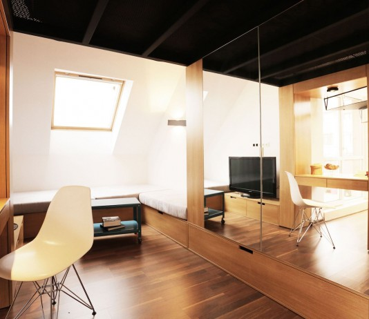 Contemporary Studio Apartment Design: Worldwide Architecture And Home Design Blog
