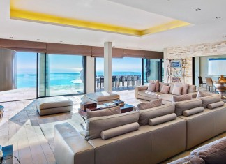 Contemporary estate in Super Cannes with panoramic sea views