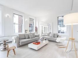Crisp and Bright Interior of Flatiron Loft in Manhattan