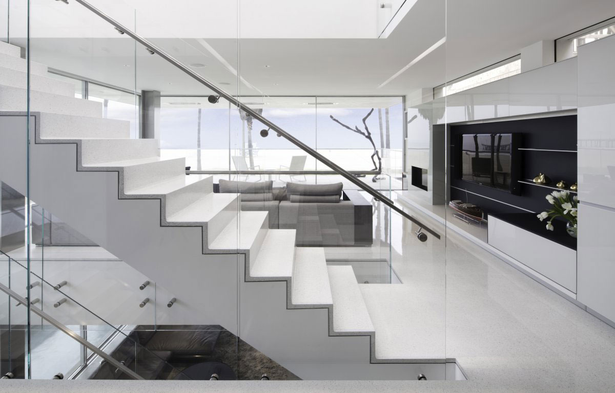 Flip flop house by dan brunn caandesign architecture - Escaleras de hierro ...