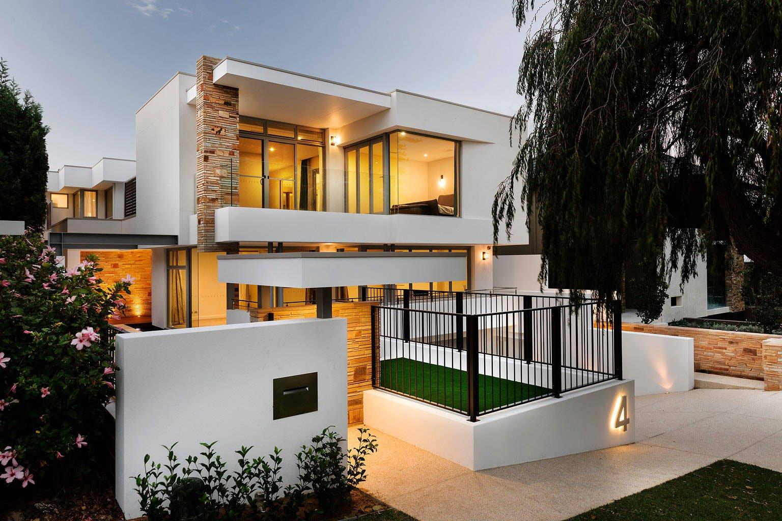 Geraldine street cottesloe by signature custom homes for Architecture interieur maison