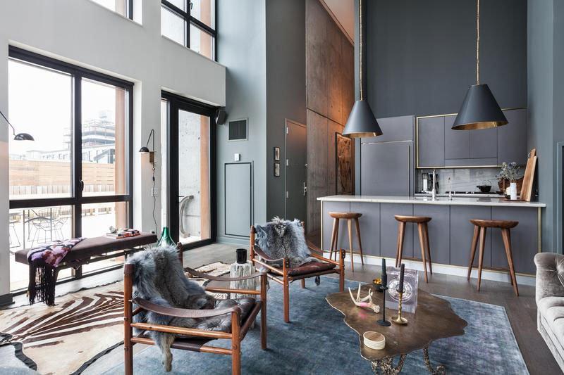 iron and wine apartment in brooklyn, new york - caandesign, Innenarchitektur ideen