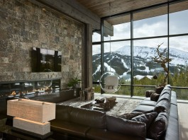 Lower Foxtail Chalet by Reid Smith Achitects & Teton Heritage Builders