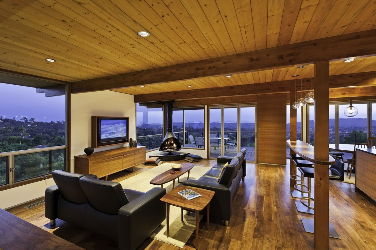 Mid Century Modern Living Room Furniture Mid Century Modern Residence By Ab Design Studio Caandesign