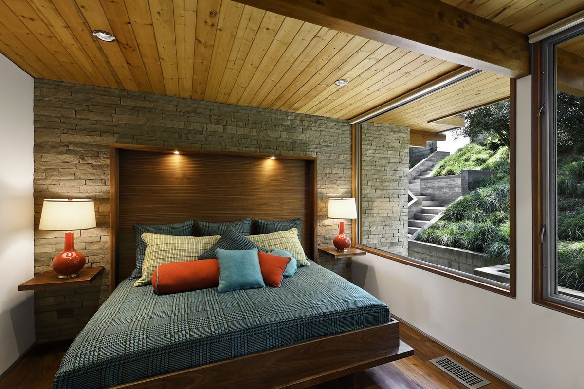 MidCentury Modern Residence By AB Design Studio CAANdesign - Mid century home design