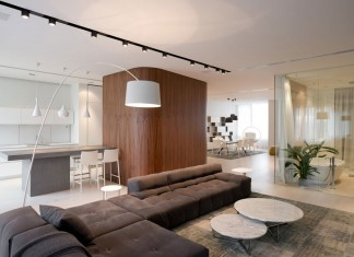New Arbat Apartment by SL*Project