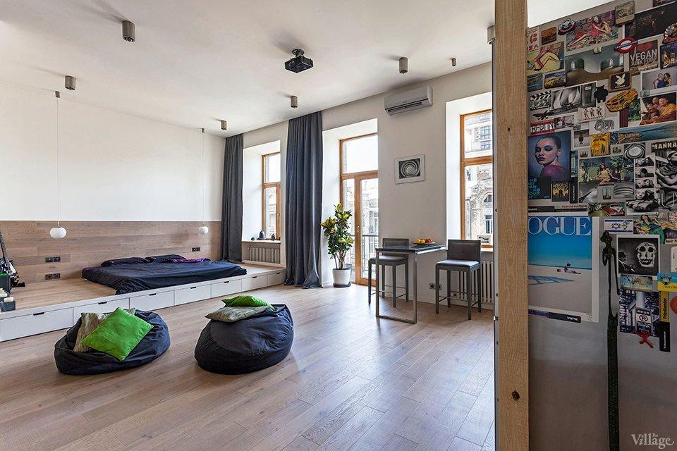 Open Studio Apartment in Kiev by FILD