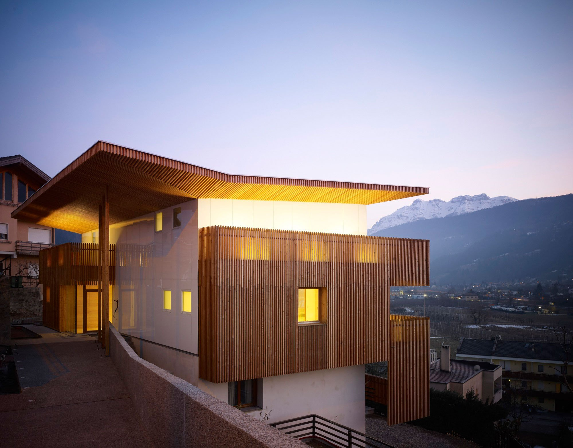 PF Single Family House By Burnazzi Feltrin Architects CAANdesign - Single family home designs