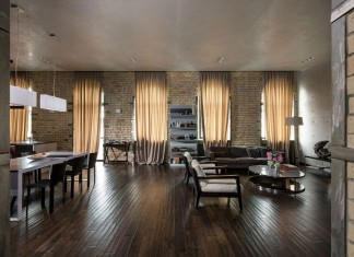Podil Loft Apartment by Sergey Makhno