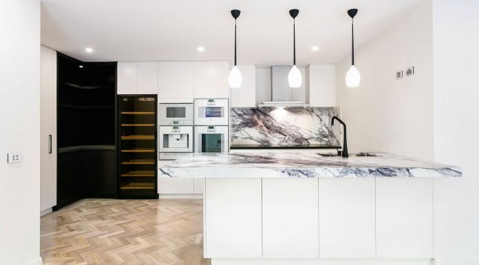 Redesigned Apartment Interior in South Yarra by Canny