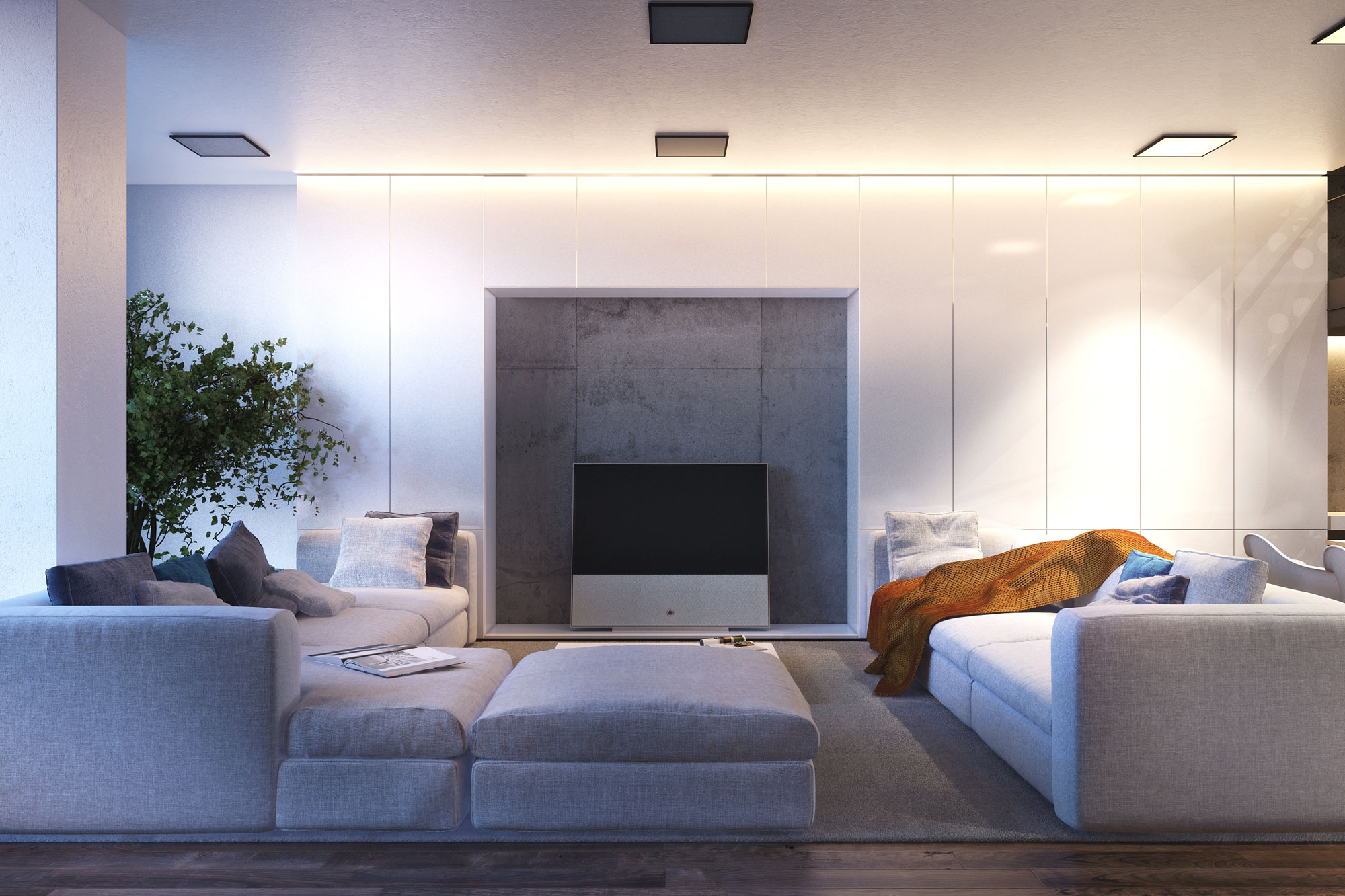 s apartment visualised by igor sirotov caandesign architecture